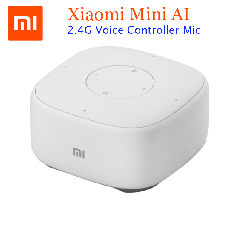 Original Xiaomi Mini 2.4G Wifi Voice Smart Speaker Wireless Portable Speaker Bluetooth 4.1 With 4 Mic for Smart home Controller nillkin s bti1 ifashion mini portable wireless bluetooth v3 0 speaker w mic aux blue