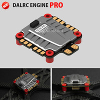 DALRC ENGINE PRO 40A ESC 4 in 1 3 5S Blheli_32 4in1 ESC Brushless DSHOT1200 Ready w/ 5V BEC Updated Version for Racing Drone