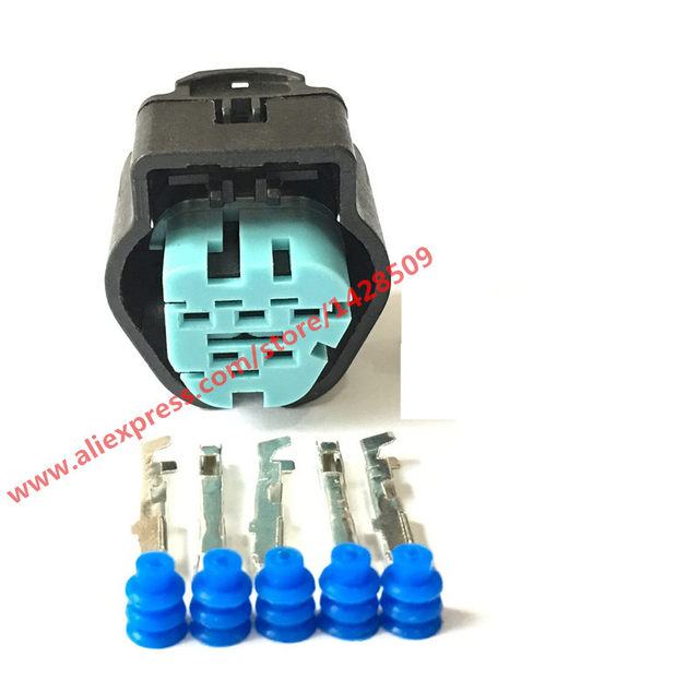 online shop 5 sets waterproof female 5 pin automotive electric wire oem wiring harness connectors catalogs 5 sets waterproof female 5 pin automotive electric wire connector for vw audi 1 928 405 159 inject sensor fits ford 1928405159