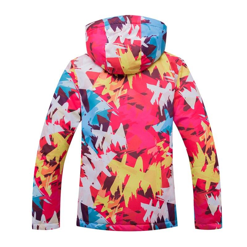 2018 haute qualité veste de snowboard en plein air femmes chaud et coupe-vent imperméable respirant ski chemise femmes livraison gratuite - 2