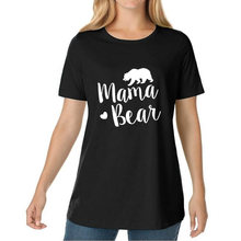 MAMA BEAR 2018 Summer Women s T Shirts Tumblr Funny Harajuku Punk Clothes T shirts for