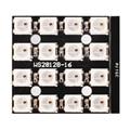 CJMCU 4x4 WS2812B 5050 RGB LED Driver de 16 Bits Placa de Desenvolvimento para Arduino OS854