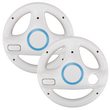 New Racing Game Steering Wheel for Wii Remote Controller For Nintendo Wii Kart Racing Innovative ergonomic design Controller(China)