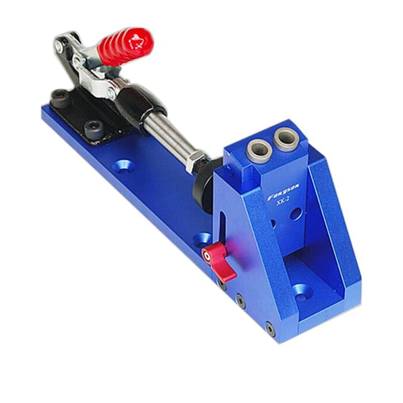 Woodworking Locator Guide Carpenter Inclined Hole Drill Tools Clamp Base E5M1 fst3125 fst3125mx sop