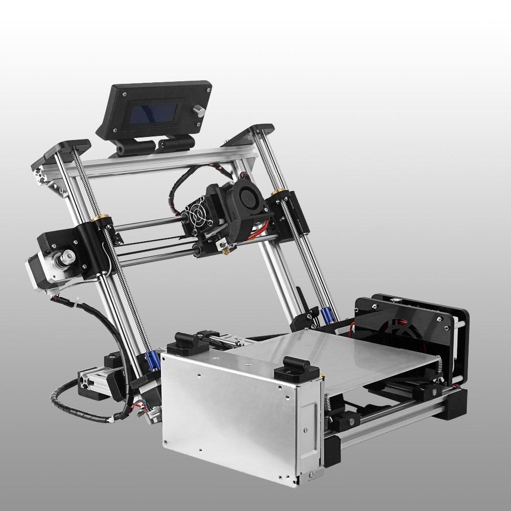 Newest Auto Leveling Folding type 3D printer impressora 3d Reprap Prusa i3 Diy Kit with 1 Roll Filament 8GB SD card as gifts 2017 newest tevo tarantula prusa i3 3d printer diy kit