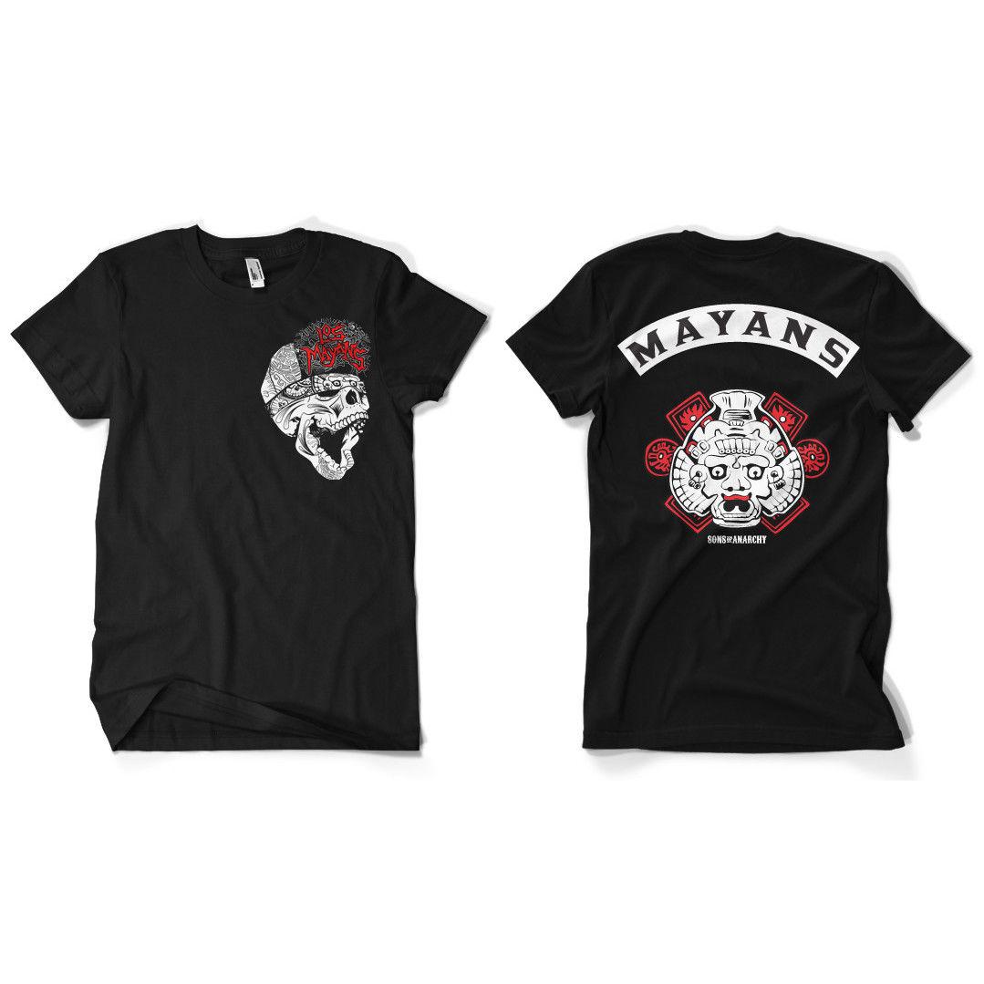 Print Men T Shirt Summer  Los Mayans Men's T-Shirt S-XXXL Sizes T-Shirt
