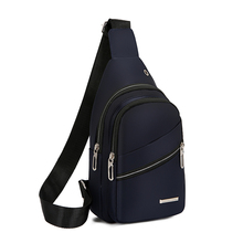 Litthing Casual Men Chest Pack Single Shoulder Bags USB Charging Chest Bags Crossbody Bags Male Anti Theft Single Strap Backpack