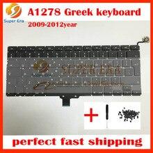 "A1278 Greek keyboard Greece layout for macbook pro 13.3"" A1278 GK keyboard clavier without backlight 2009 2010 2011 2012year"
