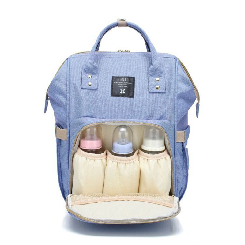 Mummy Maternity Nappy Bag Large Capacity Infant Baby Travel Backpack Bottles Storage Nipple Nursing Bags for Baby Care T0567