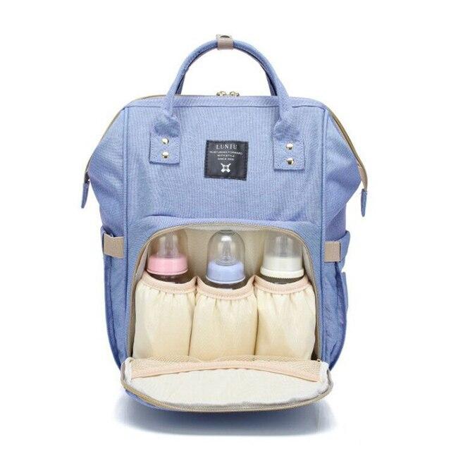 Sac à langer de grande capacité pour maman, sac à dos de voyage pour bébé, pour bébé, rangement pour biberons, T0567