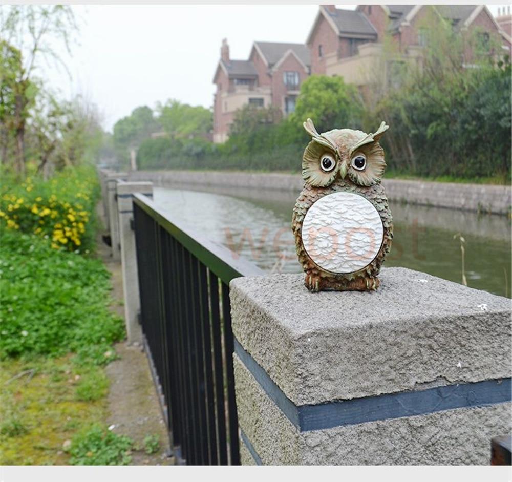 Incroyable Aliexpress.com : Buy Cute Solar Owl Light Waterproof Outdoor Garden Yard  Decorative Bird Lamp Party Club Decor Light From Reliable Decorative Light  Globes ...