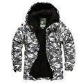 Зимняя водонепроницаемая камуфляжная куртка для катания на лыжах и сноуборде  10 000 мм