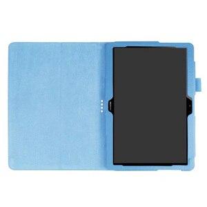 Image 5 - 30 Cái/lốc Đối Với Huawei T3 10 Lật Đứng Vải PU Bìa Case Cho Huawei Mediapad T3 10 Tablet 9.6