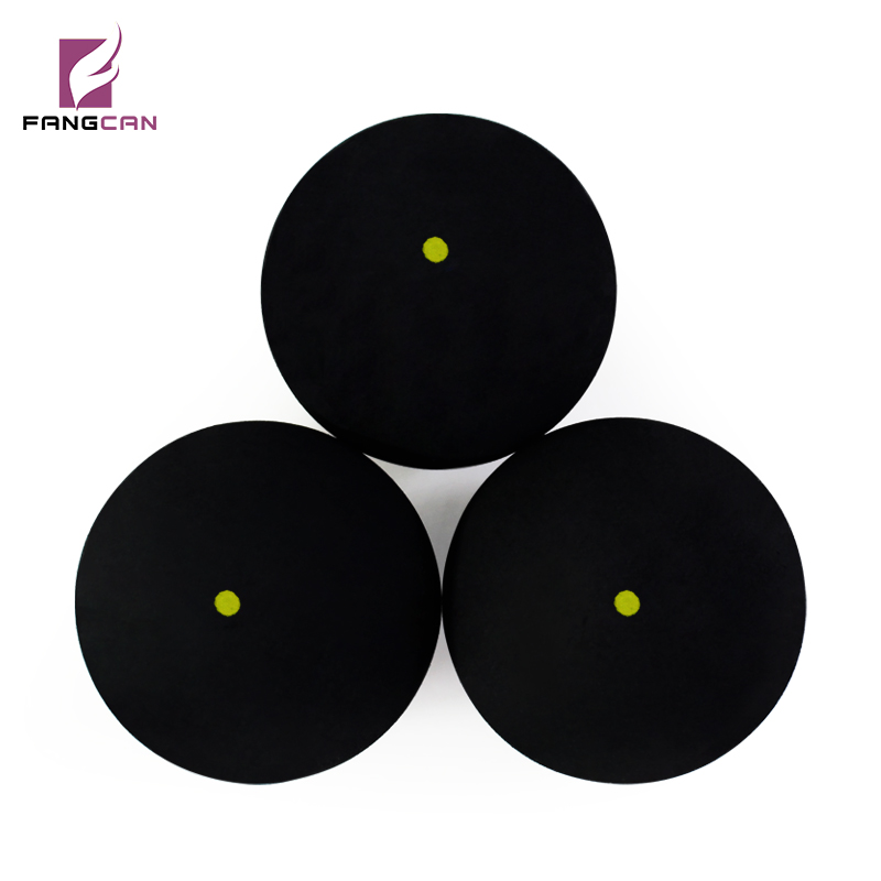 1 Pc FANGCAN FCA-09 Squash Ball - One Yellow Dots For Tournament