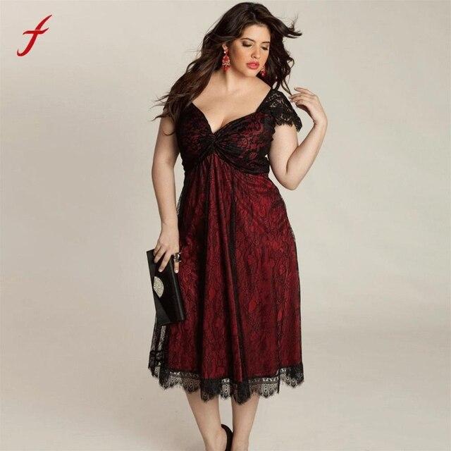 Супер большой Размеры XXXXXL платье Для женщин v-образным вырезом короткий рукав Кружево длинные Вечеринка Пром платье торжественное платье плюс Размеры Макси платье
