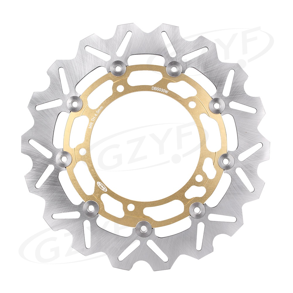 Motorcycle Front Brake Disc Rotor Replacement For Yamaha MT-03 ABS 320 YZF R3 R25 XSR900 850 Gold High Quality цена 2017