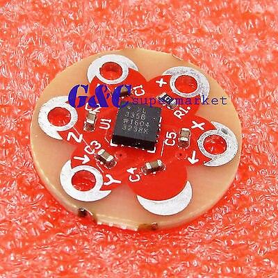 Купить для lilypad акселерометр adxl335 mems датчик для mega 2560