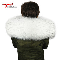 Winter 100 Real Fur Collar And Scarves Women S Fashion Sweater Coat Scarf Scarves Luxury Raccoon