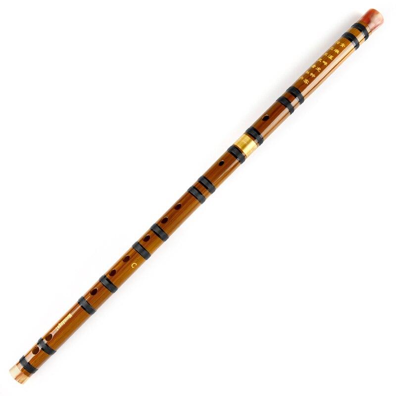 Bambusflöte MoonAngel CDEFG 5 Tasten Chinesischer Knoten Dimo - Musikinstrumente