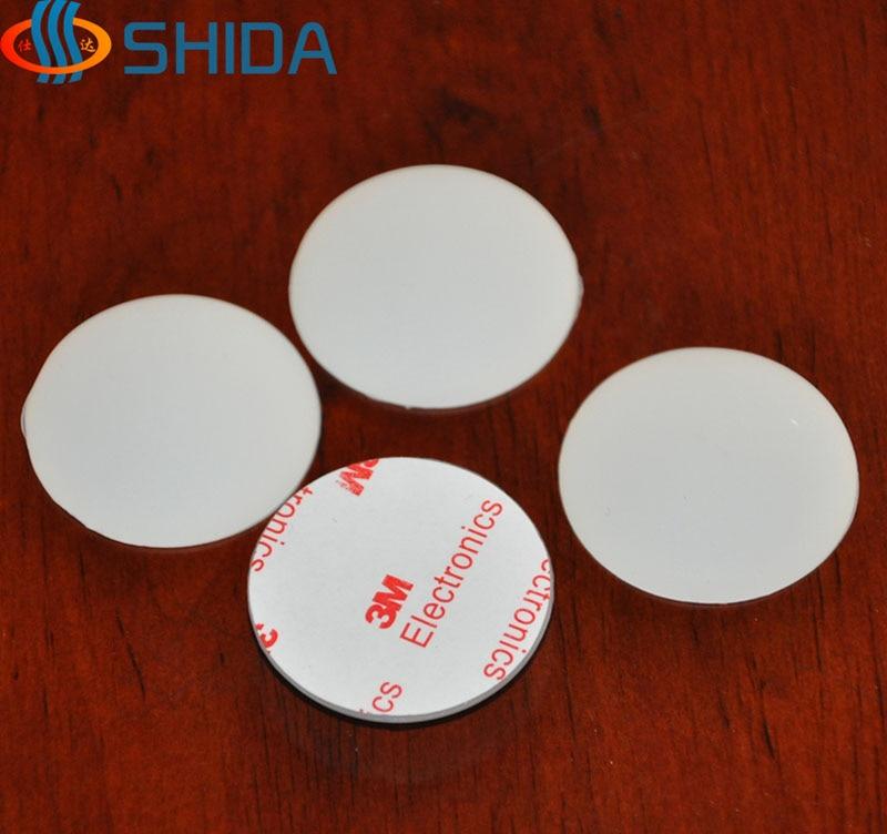 20 Pcs 40 8mm Self Adhesive White Anti Slip Silicone