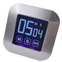 Ücretsiz nakliye, LCD dokunmatik ekran mutfak sayacı, elektronik dijital pişirme zamanlayıcısı, çok fonksiyonlu timer