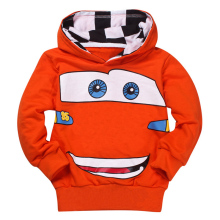 Cartoon Car Hoodies Sports Shirt Baby Cloth