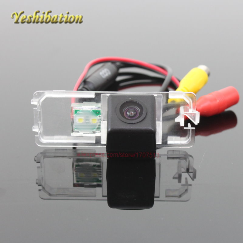 Tylna kamera HD SEAT Leon 1P MK2 5F MK3 2006 ~ 2015 Wysoka rozdzielczość 170 stopni wodoodporna wysokiej jakości kamera cofania CCD