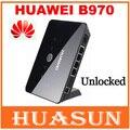 Frete grátis desbloqueado huawei b970 b970b original 3g wireless router desbloqueado hsdpa roteador wifi