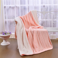 Blanket Knitted Lamb Fleece Blanket Warm And Thickened Lunch Break Office Knee