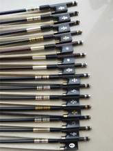 1 PC Carbon Fiber Violin Bow 4/4 Ebony Frog In Different Colors White Bow Hair