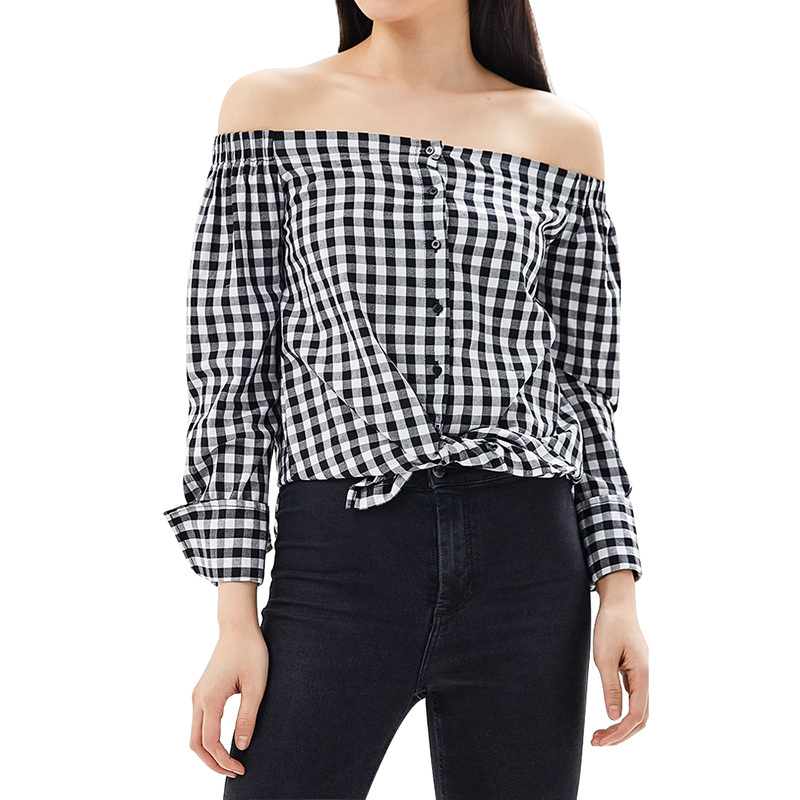 Blouses & Shirts MODIS M181W00476 women blouse shirt  clothes apparel for female TmallFS t shirts befree shirt for female cotton shirt short sleeve women clothes apparel 1811579424 54 tmallfs