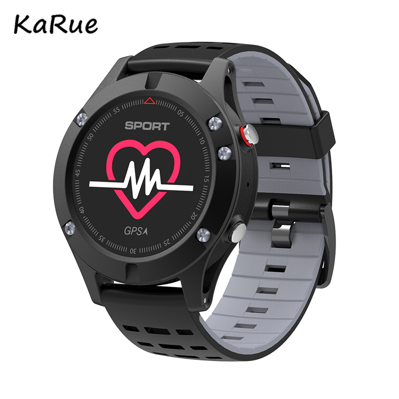 Karue 2018 F5 GPS Smart watch Altimeter Barometer Thermometer Bluetooth 4.2 Smartwatch Wearable devices for iOS Android цена