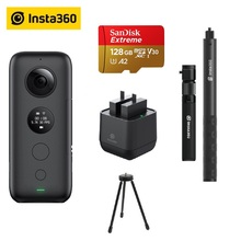 Insta360 ONE X Action Camera VR Insta 360 Panoramic Camera For IPhone And Android 5.7K Video 18MP Photo Invisible Selfie Stick(China)