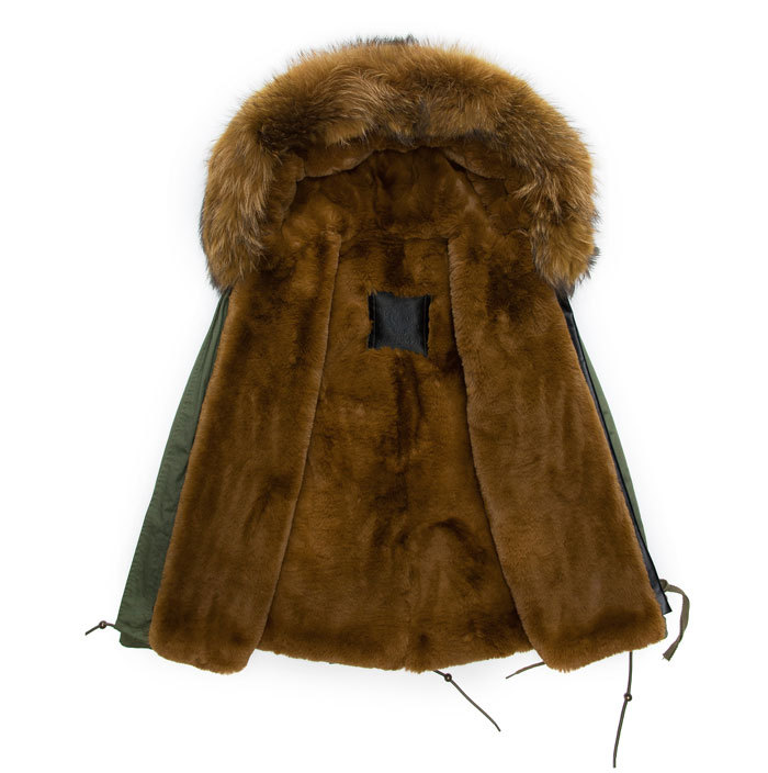 Popular Mens Fur Lined Parka-Buy Cheap Mens Fur Lined Parka lots ...