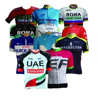All Teams 2018 Pro Team Cycling Jersey Summer Bicycle Maillot Breathable MTB Short Sleeve Bike Clothing