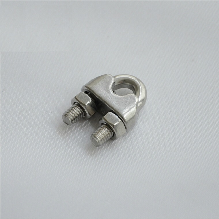 4MM ss304 stainless steel wire clamps U type rope clips accessory ...