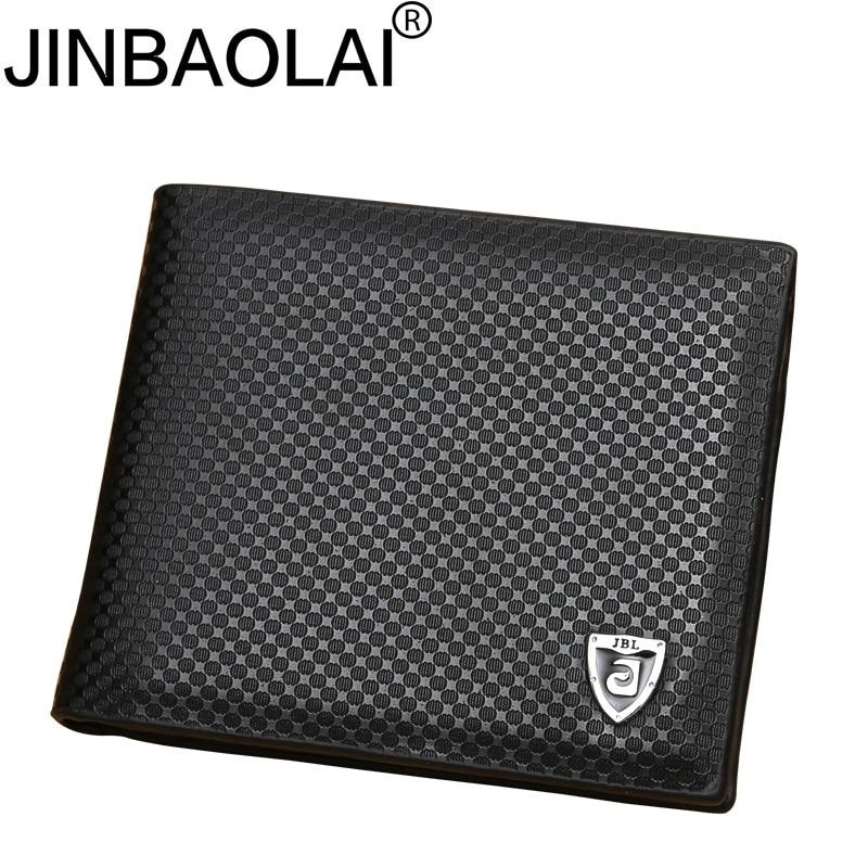 New PU leather wallet men wallets luxury