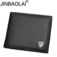New PU leather wallet men wallets luxury