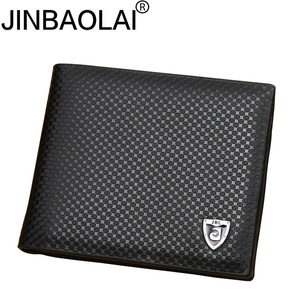New PU leather wallet men wall