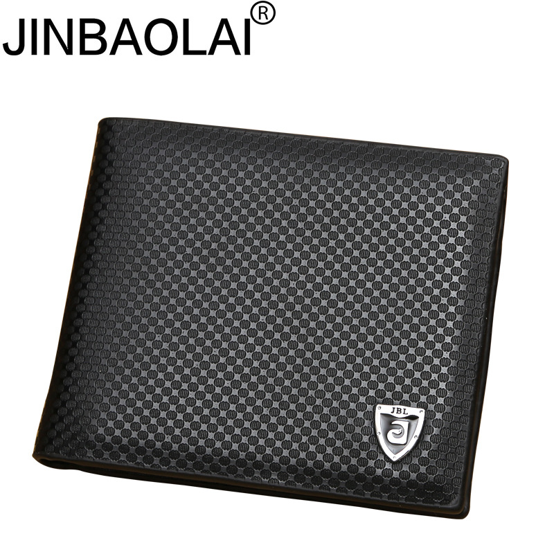 New PU leather wallet men wallets luxury brand clutch wallet Brown money clip mens leath ...