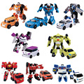 8 styles Min Tobot Transformation Robot Action Figure Anime Tobot Deformation Robot Cars Toys for Kids Education Toy Gifts