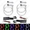 5Set 6-Color Car CCFL Halo Rings Angel Eyes LED Headlights for BMW E32.E34.E30.E39OEM Angel Eyes Kits #J-4164