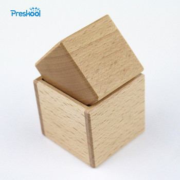 Baby Toy Montessori Object Fitting Exercise Cube and Box Early Education Preschool Toys Brinquedos Juguetes