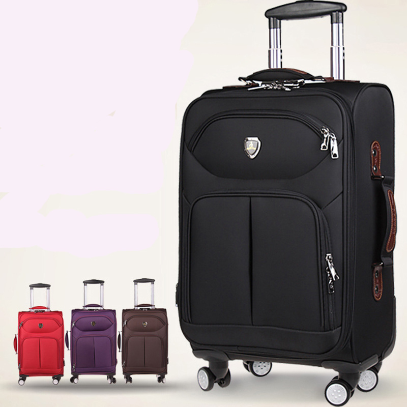 Oxford Rolling Luggage Spinner Men Business Suitcase Wheels 20 inch Carry on Trolley password 30 inch High capacity Travel Bag oxford rolling luggage spinner men business suitcase wheels 20 inch carry on trolley password 30 inch high capacity travel bag