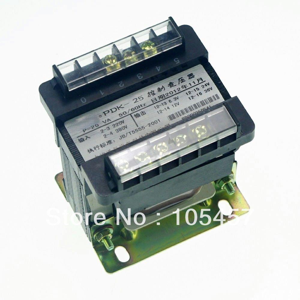 (1)Output AC 0-6.3V-12V-24V-36V Single Phase Control Transformer 25VA output ac 0 6 3v 12v 24v 36v single phase control transformer 25va toroidal transformer
