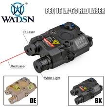 WADSN страйкбол LA PEQ15 красный точечный лазерный тактический светильник PEQ 15 IR Lazer Flash светильник Combo охотничий softair Peq-15 оружейный светильник s EX276
