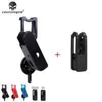 Emerson Tactical MOLLE MBITR Radio Pouch EmersonGear Universal Walkie Bag  Talkie Pocket W/ Hook & Loop For AVS JPC Vest