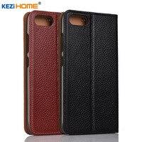 For Asus Zenfone 4 Max Plus ZC550TL X015D Case Flip Genuine Leather Soft Silicon Back Cover