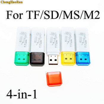 1pcs di Alta Qualità Mini USB 2.0 Card Reader per Micro SD Card Carta di TF Card Adapter Plug and Play Colourful tra cui scegliere per Tablet PC image