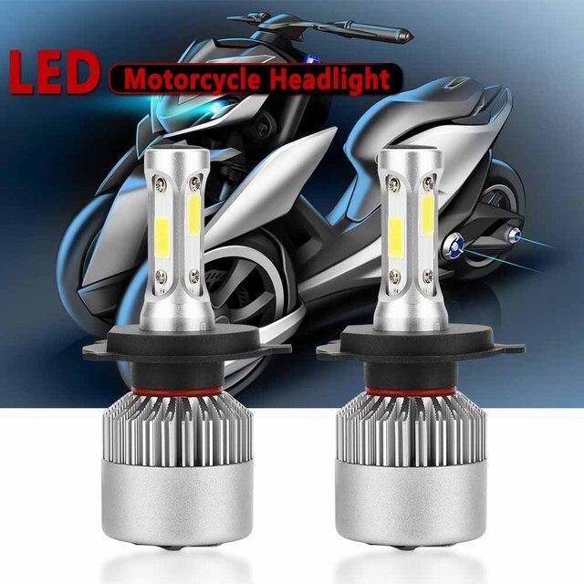 Motorcycles Lights LED H4  H7 H11 H1 H3 LED 6000K 8000LM Headlamp Super Bright Headlight Bulbs Autocycle Universal Moto